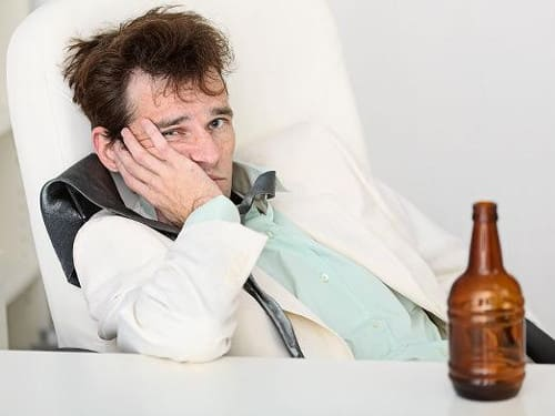 Алкогольная зависимость пример